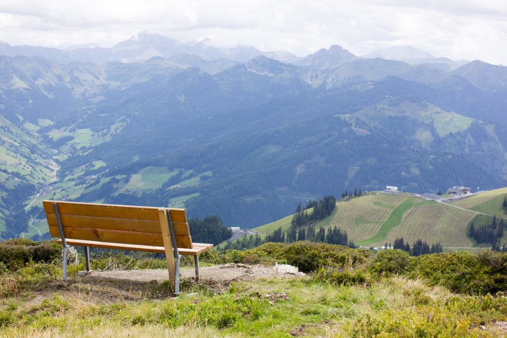 Happy bench