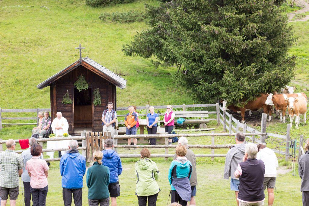 Mass on the Mountain